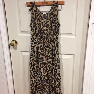 🤩3/$25 Long Cheetah Print Dress